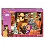 Step-Puzzle-79605 Masha and the Bear