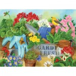 Sunsout-16062 Jane Maday - Gardener's Table