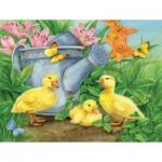 Sunsout-16078 Jane Maday - Ducklings and Butterflies