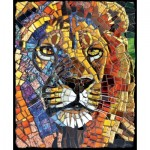 Sunsout-70720 Cynthie Fisher - Stained Glass Lion