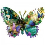 Sunsout-96024 Pièces XXL - Alixandra Mullins - Forest Butterfly