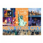 Trefl-10579 Neon Color Line - New York City