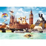 Trefl-10596 Sweet London