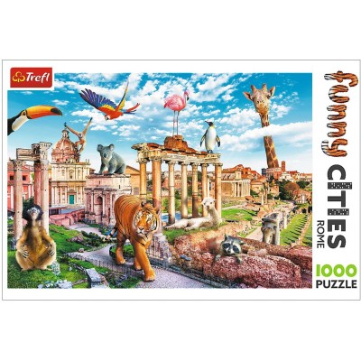 Trefl-10600 Funny Cities - Rome