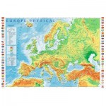 Trefl-10605 Europe Physical Map