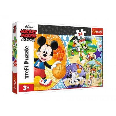 Trefl-14291 Pièces XXL - Mickey Mouse and Friends