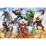 Trefl-15368 Disney Marvel, The Avengers