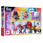 Trefl-15396 Dreamworks - Trolls World Tour
