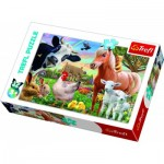 Trefl-17320 A Cheerful Farm