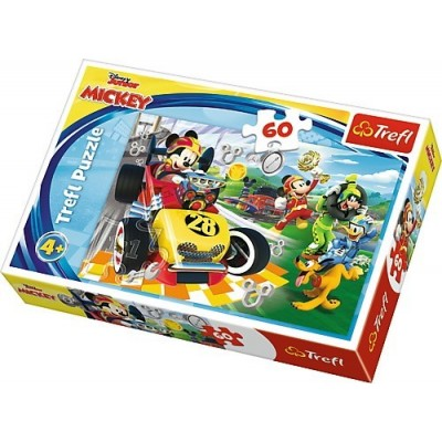 Trefl-17322 Disney Mickey and the Roadster Racers
