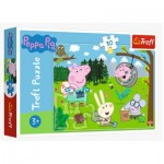 Trefl-18245 Peppa Pig - Forest Expedition